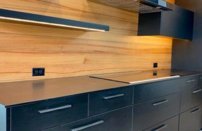 Gainesville Florida Richlite Custom Cabinets Straw Custom Woodwork