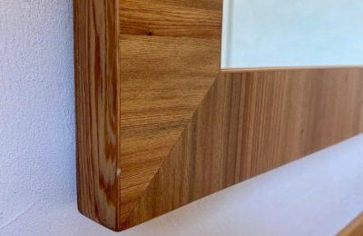Custom Cypress Modern Vanity Gainesville Florida Straw Custom Wood Work