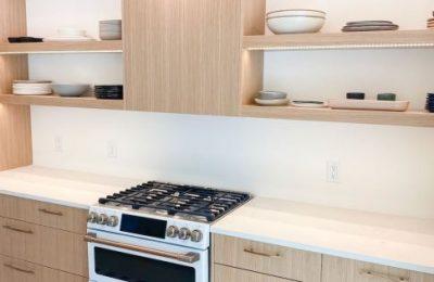 White Oak Modern Kitchen Gainesville Florida Straw Custom Woodwork
