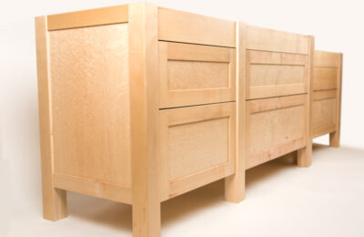 Frame-and-panel-kitchen-cabinets