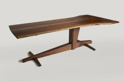 Live Edge Walnut Table by Straw Woodwork Gainesville Florida