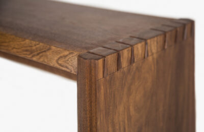 solid-walnut-bench