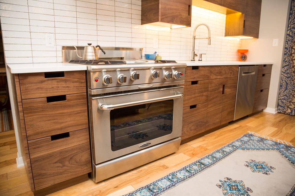 Walnut Modern Custom Kitchen Cabinets Straw Woodwork Modern Kitchen Cabinets Custom Hand Craftred Furniture Gainseville Florida