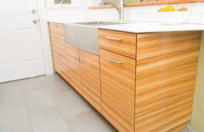 zebra-wood-custom-kitchen-cabinets