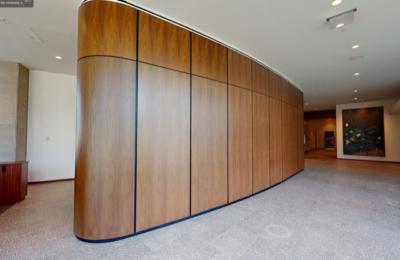 custom reception architectural millwork florida