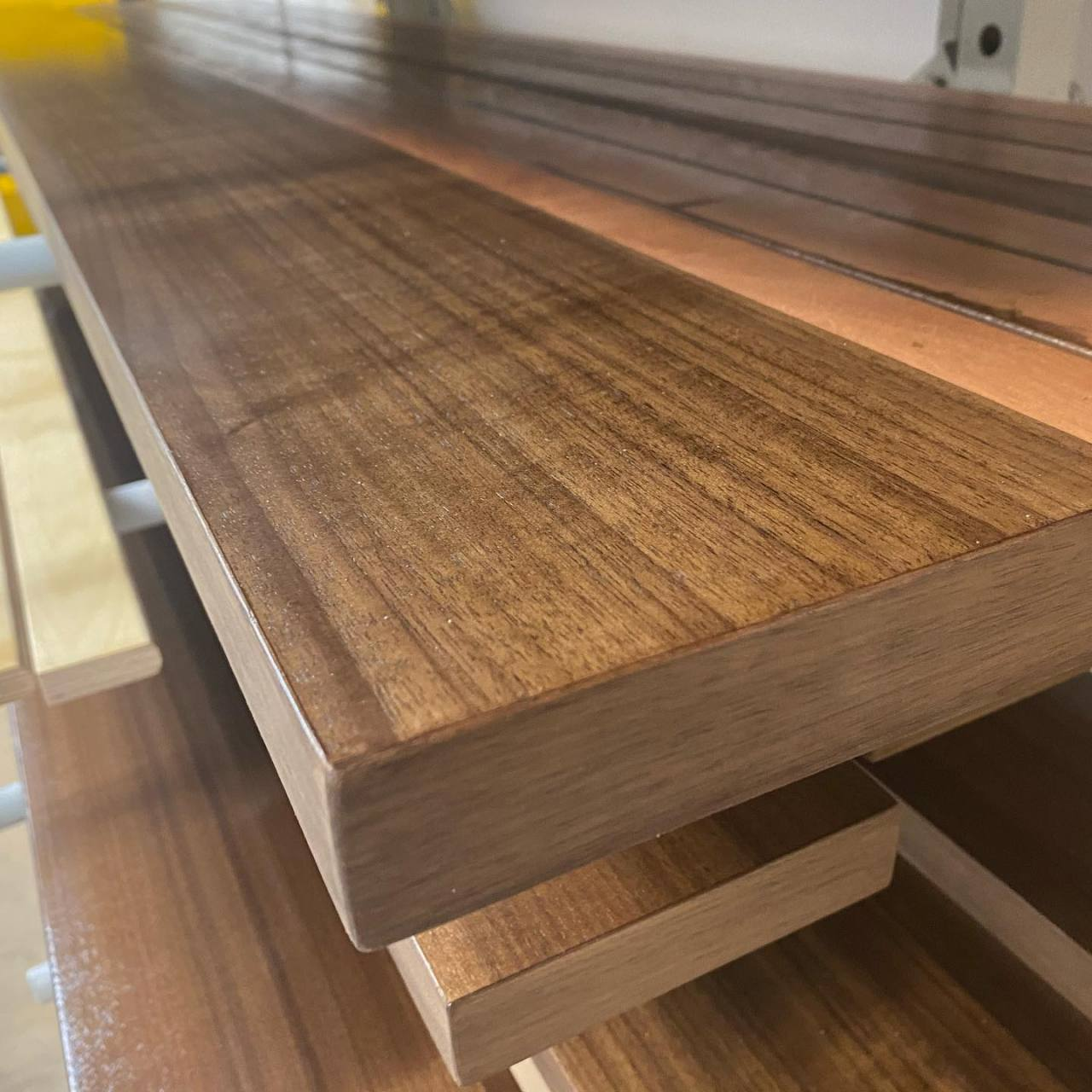 Walnut for @alfonsoarchitects @thehoteleleo . Teak for @digarchitecture